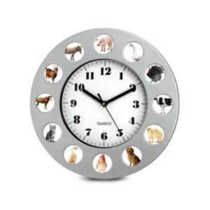 Fineline 00665 Animal Farm Clock NEW (811676015560)