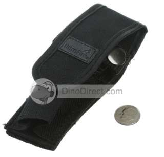 UltraFire WF 501B C D Flashlight Nylon Full Flap Holster   DinoDirect