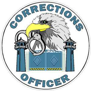 Corrections Officer Eagle   Decal