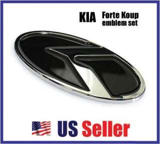 KIA FORTE KOUP K LOGO Emblem Full Set Koup   7 ea