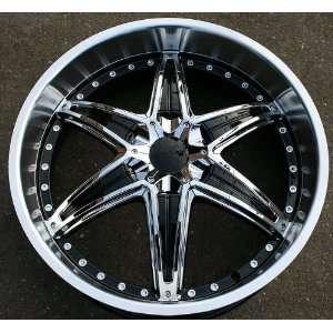 RVM 445   22 x 8.5 Black Rims / Wheels Nissan Infiniti M35 M45 G35