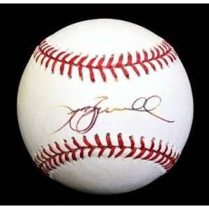 Jeff Bagwell Signed Baseball   Oml Psa dna Sports