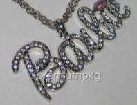 NICKI MINAJ BARBIE NECKLACE Pendant w/ Franco Style Chain ITS BARBIE