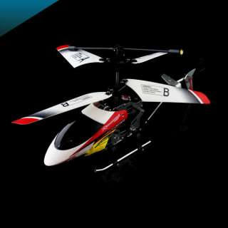 Control RC Metal Helicopter + Gyro Toy Christmas Birthday Gift 335 Red