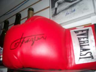 Joe Frazier Boxing Signed Boxing Glove JSA