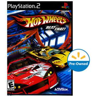 Hot Wheels Beat That PS2, Hot Wheels PS2 Game, Sports Racing Game