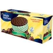 Ice Cream Sandwich, 6ct Weight Watchers Mint Ice Cream Sandwich, 6ct