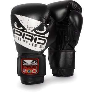 Bad Boy Pro Leather Boxing Gloves Sports & Outdoors