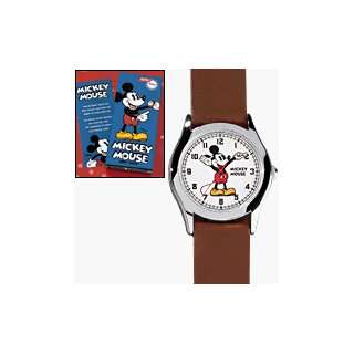MICKEY MOUSE MOVING HANDS WRIST WATCH Silver tone ,Disney Jewelry