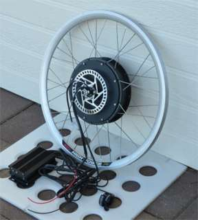 Electric Bike Conversion Kit   Rear Hub Motor with 26 Rim and Speed