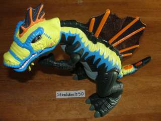 Imaginext Mega Spinosaurus Fisher Price Dinosaur Toy RARE T Rex Move