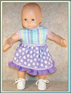 Doll Clothes American Girl Bitty Baby Fits Dress Summer 14 16 inch