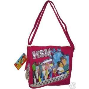 Disney High School Musical Dj Messenger Bag Tote Pink