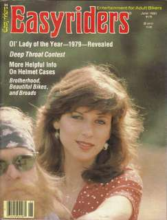 RARE* JUNE 1980 EASYRIDERS MAGAZINE