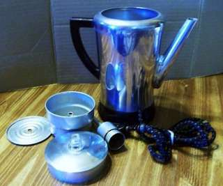 CUP WEST BEND FLAVO MATIC ELECTRIC PERCOLATOR COFFEE POT