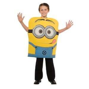 Despicable Me Deluxe Minion Dave Child Costume Medium (8 10): Toys