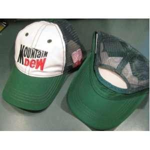 Dew AMP Energy Winners Circle Truckers Hat Green Mesh Backing Hat Cap