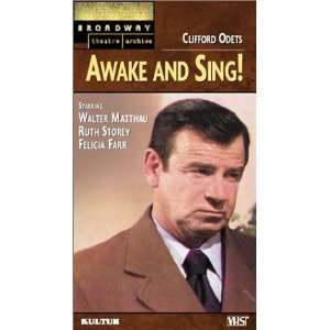 Awake and Sing! (Broadway Theatre Archive) [VHS]: Felicia Farr