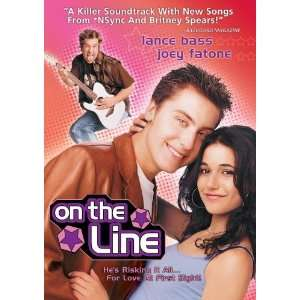 On The Line Lance Bass, Joey Fantone, Emmanuelle Chriqui
