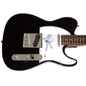 Van Halen Michael Anthony Autographed Signed Guitar PSA