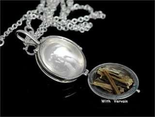 Diaries Elena Vervain Necklace Pure Silver Necklace Vampire Necklace