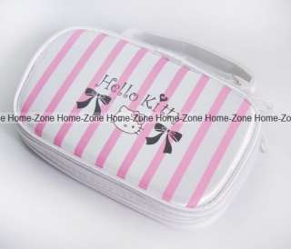 Hello Kitty Pink Carry Pouch Case Bag For Nintendo NDS Ds Lite DSi 3DS