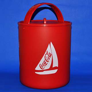 COCA COLA COKE Red Ice Bucket Cooler New