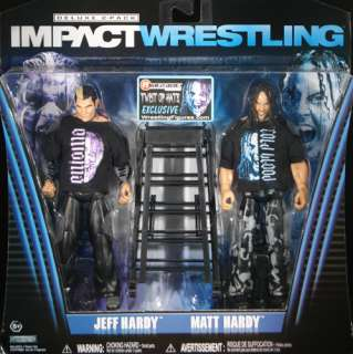 RINGSIDE EXCLUSIVE   TNA JAKKS TOY WRESTLING FIGURE 2 PACK