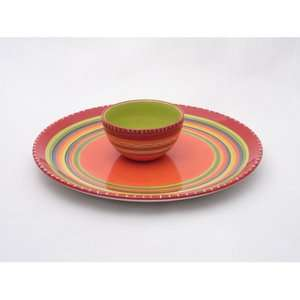 Certified International Hot Tamale Chip and Dip Set Kitchen & Dining