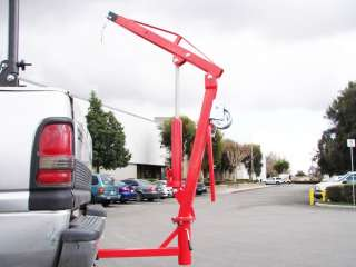 500 LB PICKUP TRUCK HYDRAULIC PWC DOCK JIB ENGINE HOIST CRANE HITCH