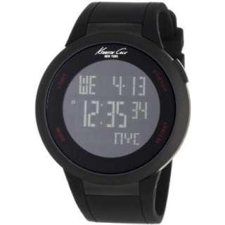 Kenneth Cole New York Unisex KC1640 Digital Black Screen Dial Watch