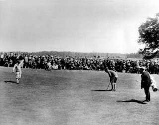 BOBBY JONES GENE SARAZEN PGA GOLF AUGUSTA NATIONAL MASTERS U.S. OPEN