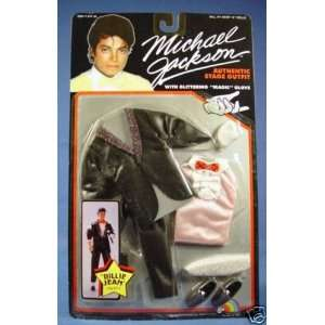 Michael Jackson 1984 Billie Jean Doll Stage OUTFIT