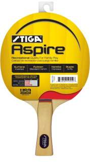 NEW Stiga Aspire Ping Pong Paddle Table Tennis Racket