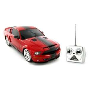 Shelby Mustang GT500 Super Snake 1:18 Electric RTR RC Car: Toys