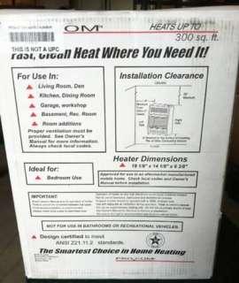 ML100TBA 10,000 BTU Vent Free Propane Gas Room Heater + Stand