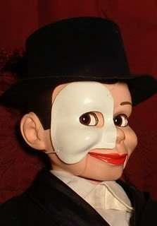 Ventriloquist Doll EYES FOLLOW YOU Phantom of The Opera Dummy Puppet