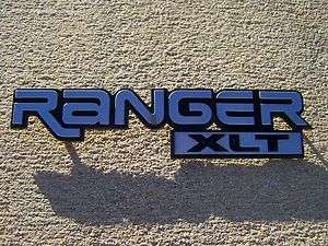 OEM Factory Genuine Stock Ford Ranger XLT fender emblem badge decal