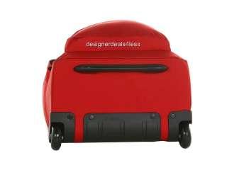 NEW JANSPORT SUPERBREAK WHEELED ROLLING LAPTOP BACKPACK SCHOOL BAG RED