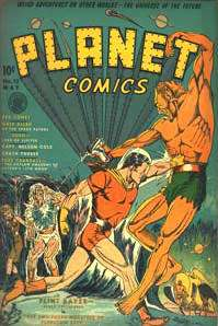 Comics Golden Age Sci Fi Comics Books on DVD Fiction House