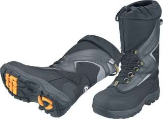 Ski Doo Mens Trail Boots Grey Snow Sled Trail BRP 8