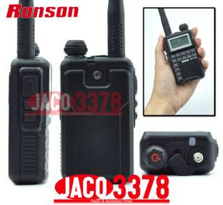 RONSON RT 88 UHF 400 480Mhz small radio with earpiece