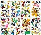 giant set 70 super mario bros wii wall decals luigi peel stick