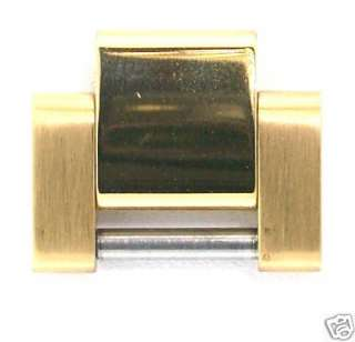 MEN OYSTER GOLD WATCH BAND LINK FOR ROLEX YELLOW GP