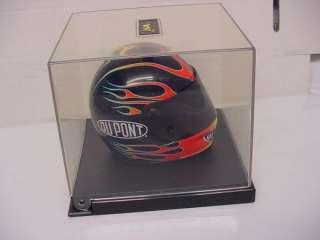 JEFF GORDON NASCAR HELMET 1/3 DUPONT 24 FLAMES WINNERS CIRCLE NEW