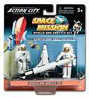 ACTION CITY SPACE MISSION APOLLO AND SHUTTLE SET BRAND