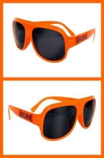 Gafas de sol auténticas anaranjadas de Zack Ryder Broski nuevas WWE
